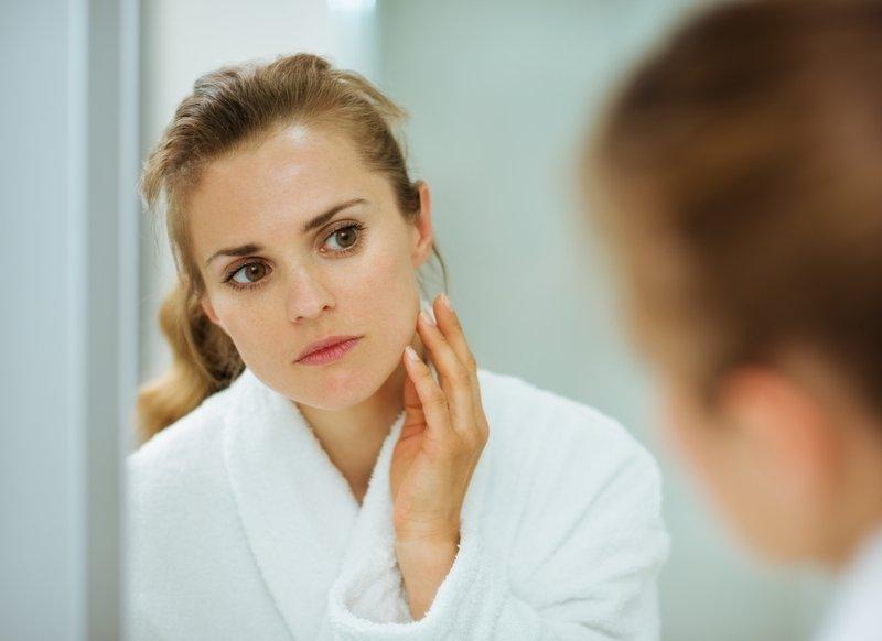 perubahan kulit saat trimester pertama-wajah cerah