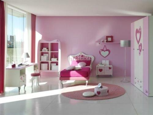 Warna Cat Kamar Anak Perempuan - Merah Muda
