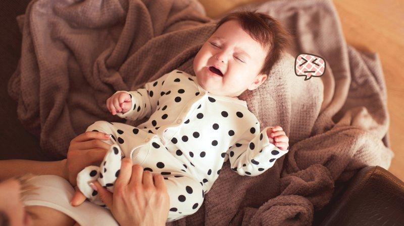 perut bayi bunyi dan sering kentut
