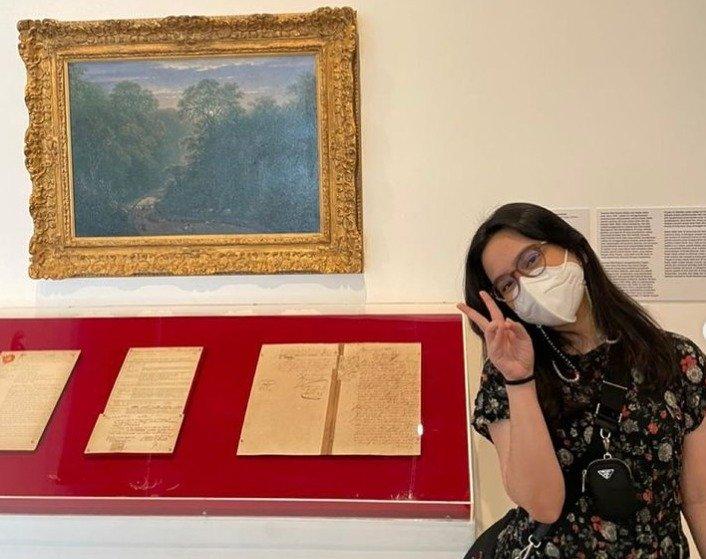 Rachel amanda ke museum