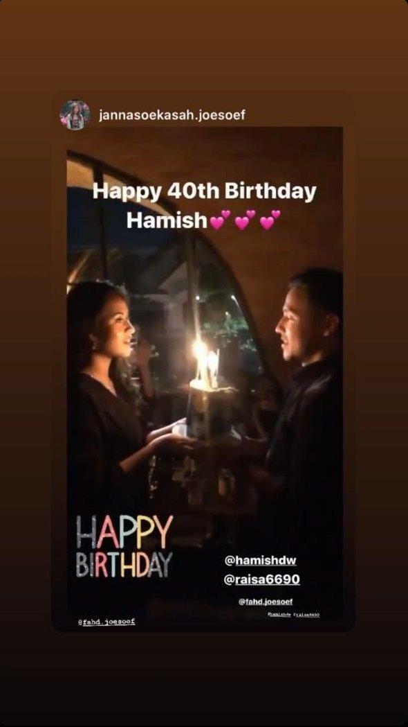 ulang tahun hamish daud