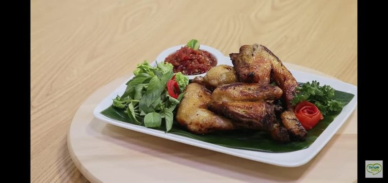 Resep Ayam Bacem Indonesia