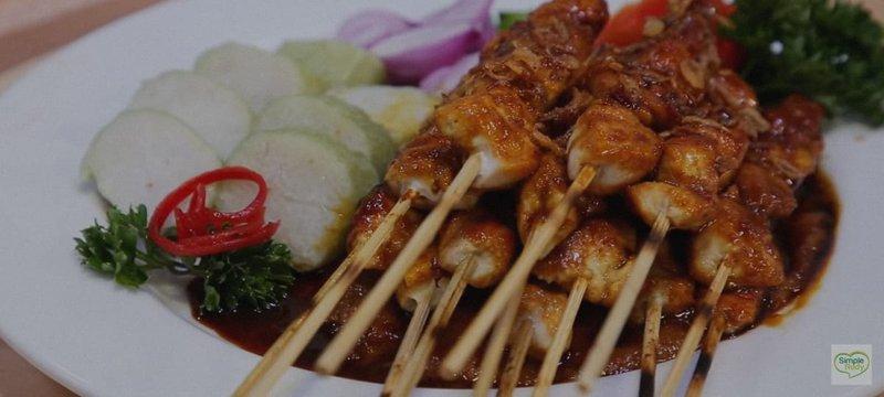 Resep Sate Ayam Indonesia