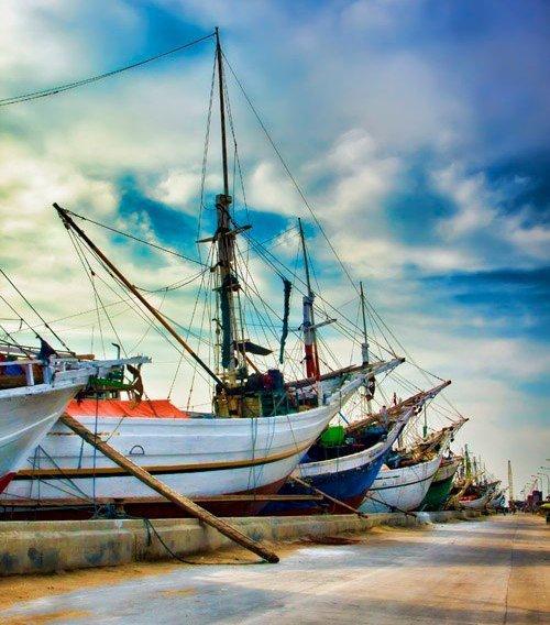 Wisata Jakarta Pelabuhan Sunda Kelapa