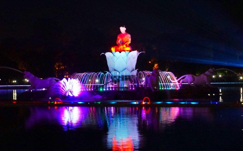 Wisata Purwakarta - Taman Air Mancur Sri Baduga