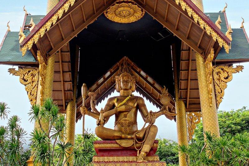 Wisata Surabaya - Patung Buddha 4 Rupa