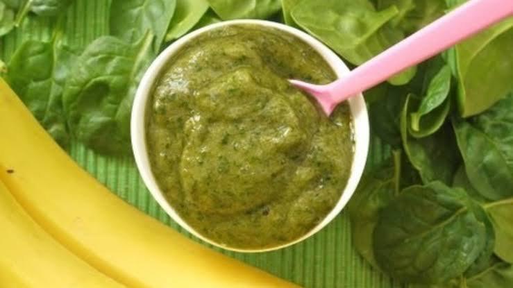 mpasi bayam bisa dijadikan pilihan untuk makanan dengan sumber vitamin a