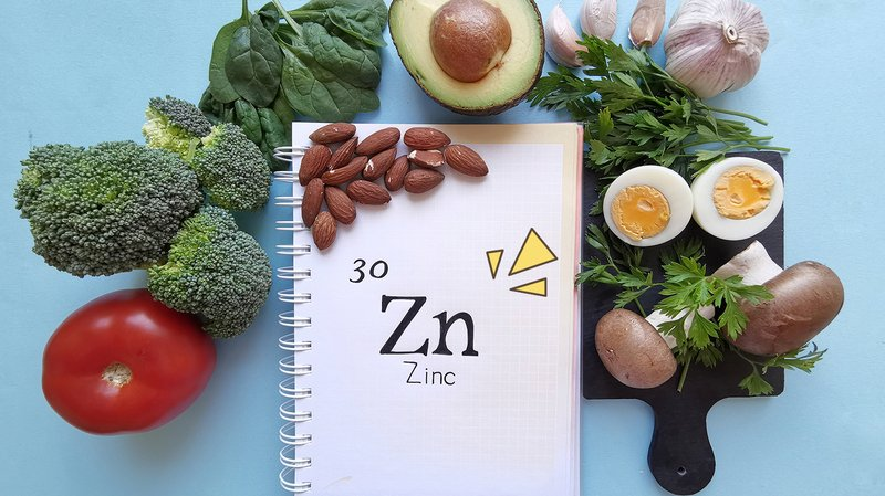 Konsumsi makanan dengan zinc