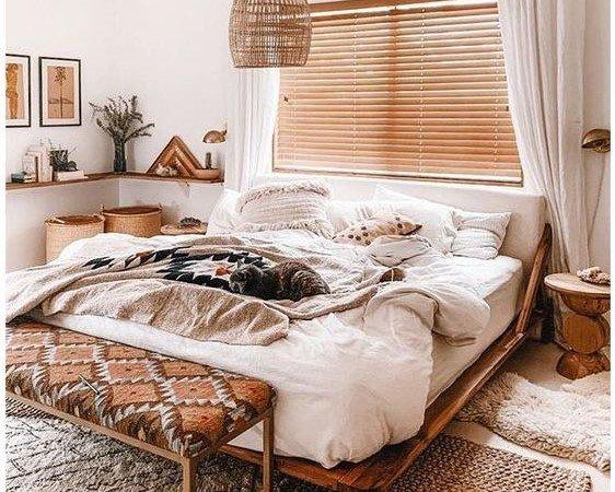 Kamar minimalis remaja bohemian