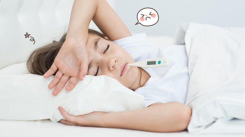 anak sakit karena infeksi bakteri, apa bedanya dengan infeksi virus hero