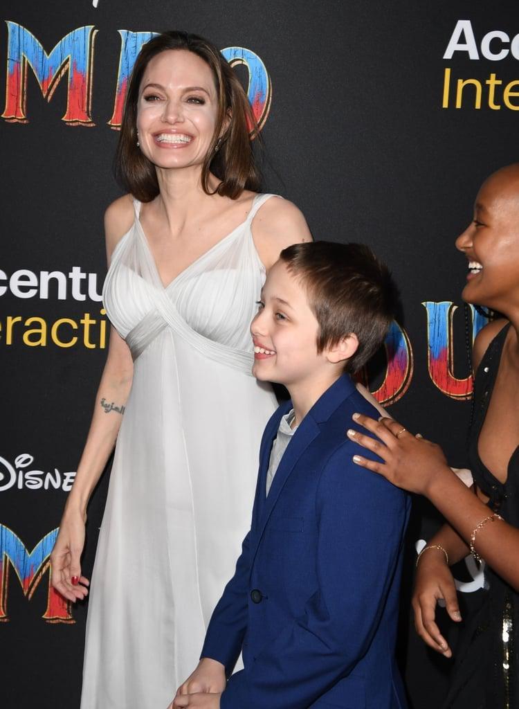 angelina jolie her kids dumbo premiere 2019