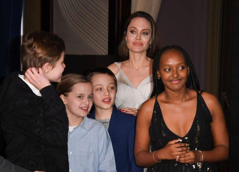 angelina jolie her kids dumbo premiere 2019 (2)