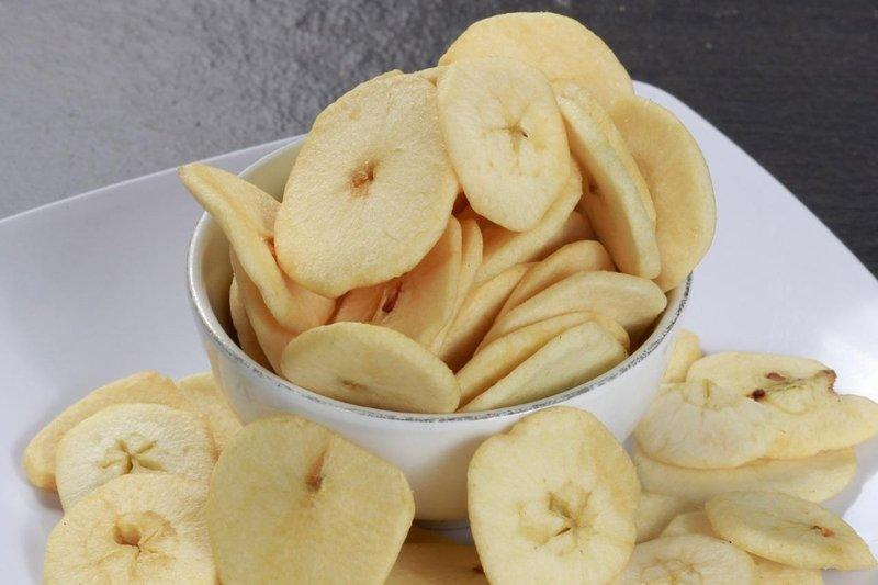 makanan olahan dengan apel, buah apel