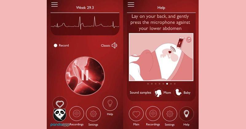 aplikasi ibu hamil untuk cek detak jantung bayi
