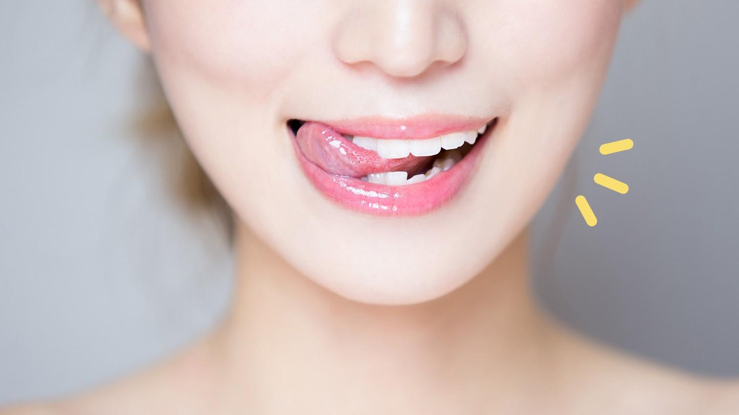 Hasil gambar untuk tidak menjilat bibir