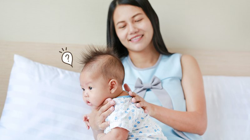 Cara mengatasi perut kembung pada bayi
