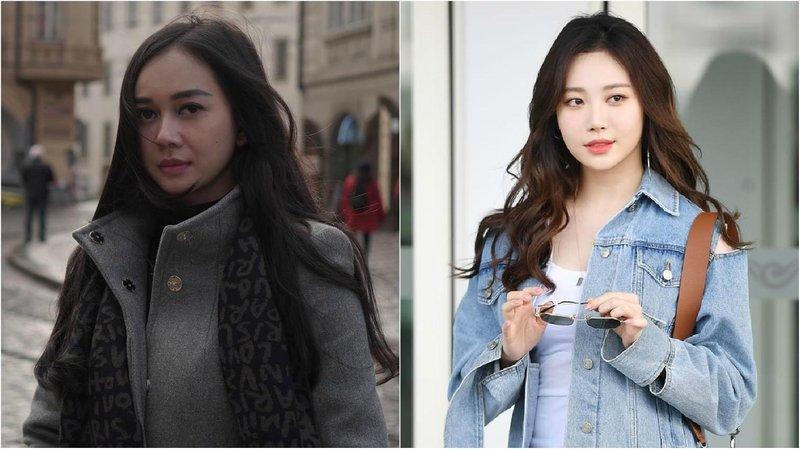 artis kembar korea aura kasih