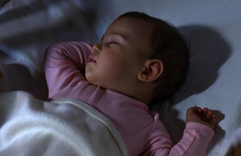 bayi tidur malam