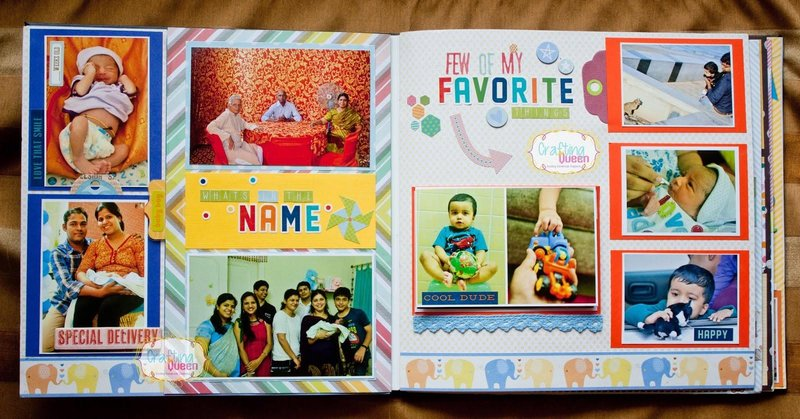 baby scrapbooking ideas while naming your baby2