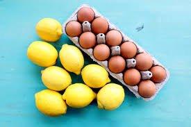 bahan alami untuk mengatasi kantung mata - telur dan lemon.jpg