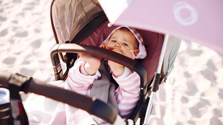 bahan stroller atau car seat yang membuat bayi nyaman