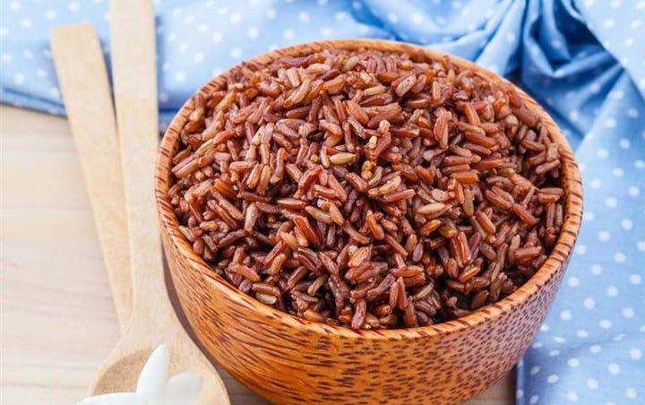 Manfaat beras merah yang banyak diketahui adalah mengurangi stres