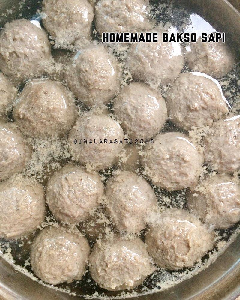 bakso sapi homemade