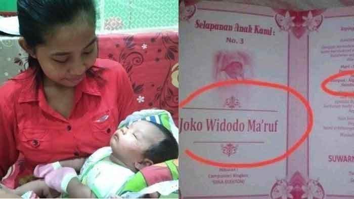 bayi bernama joko widodo maruf dan surat undangan yang beredar viral di media sosial