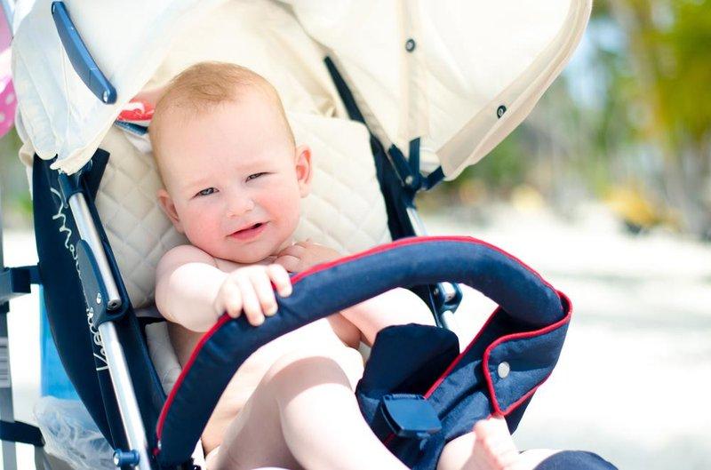 bayi kepanasan