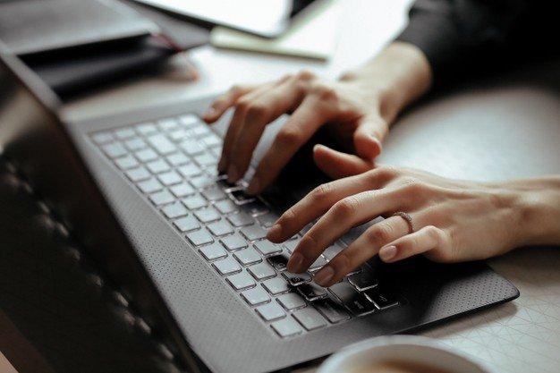 Printscreen di laptop