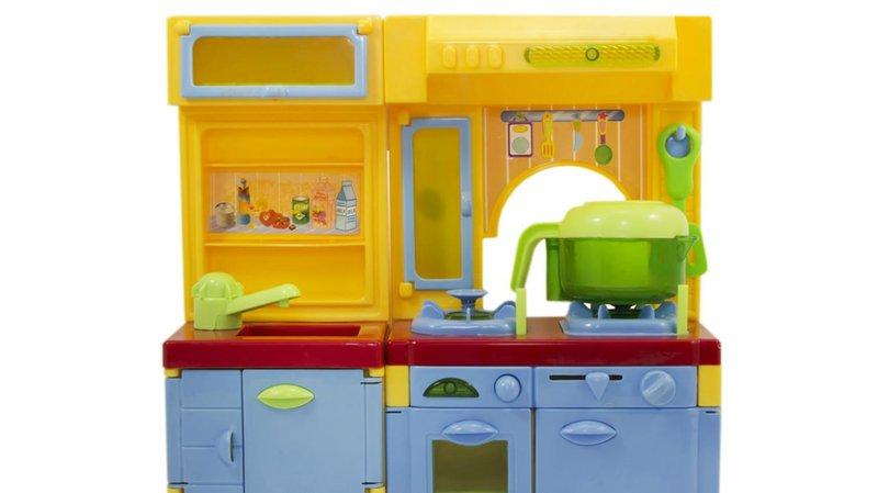 bermain peran sambil belajar dengan 5 mainan miniatur miniatur kitchen set