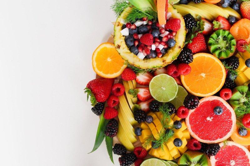 berries bowl of fruit citrus 1128678