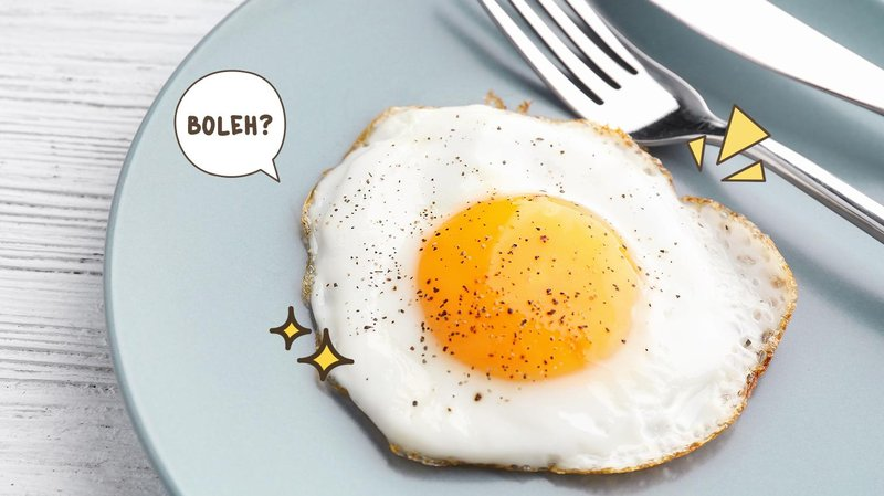 Makan Telur