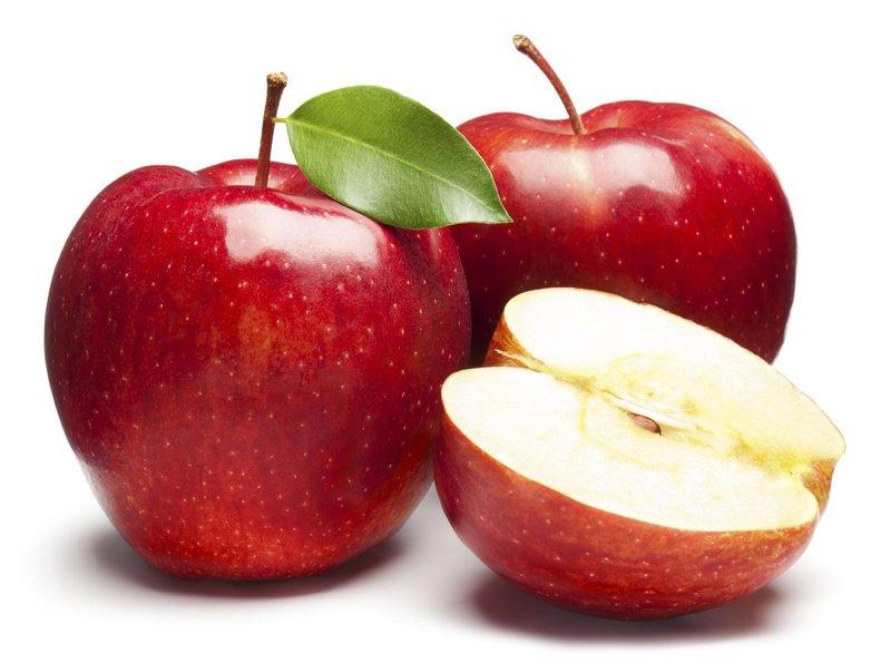 buah apel serat