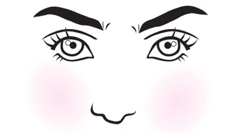 bulu mata mata bulat