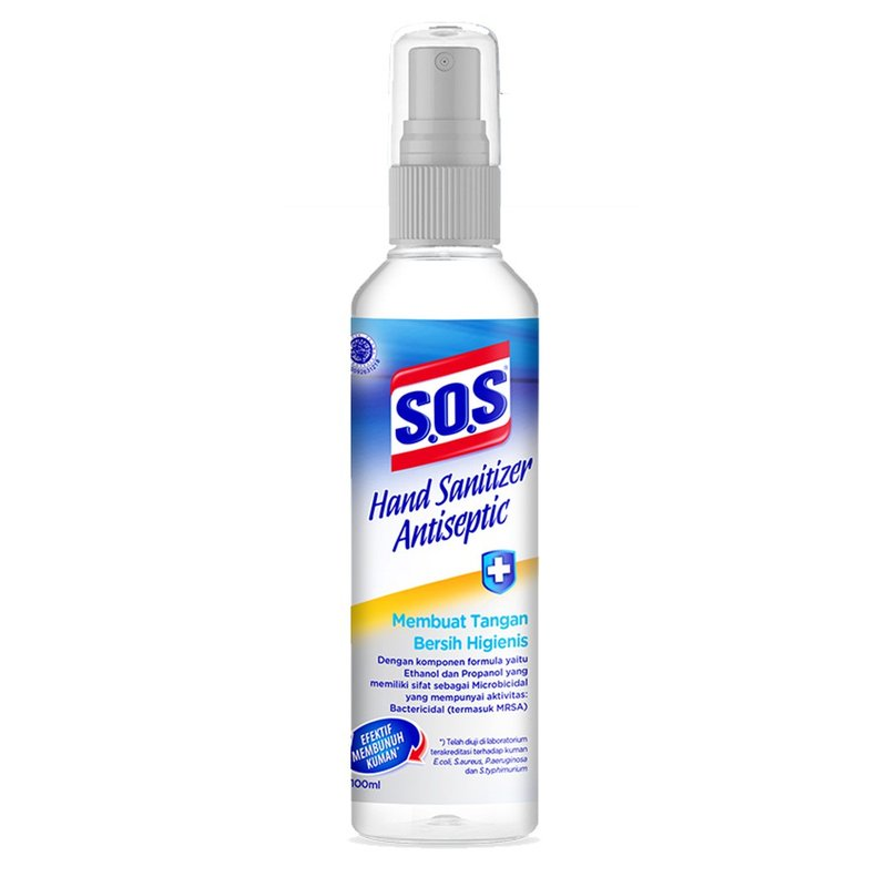 sos hand sanitizer spray