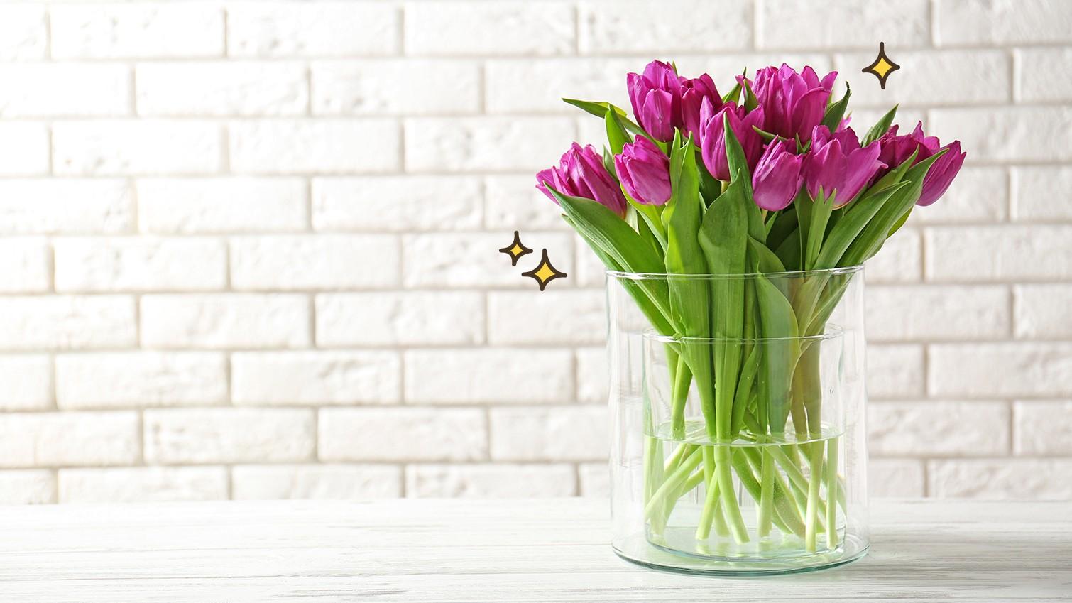 Tips Agar Bunga Di Vas Tetap Segar Dan Lebih Tahan Lama
