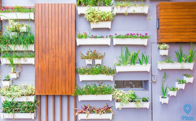 xx ide bikin taman vertikal untuk dekor halaman rumah yang kecil ala latar foto gisel-gempi