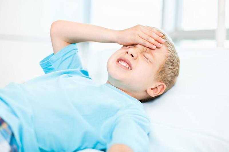 child in pain