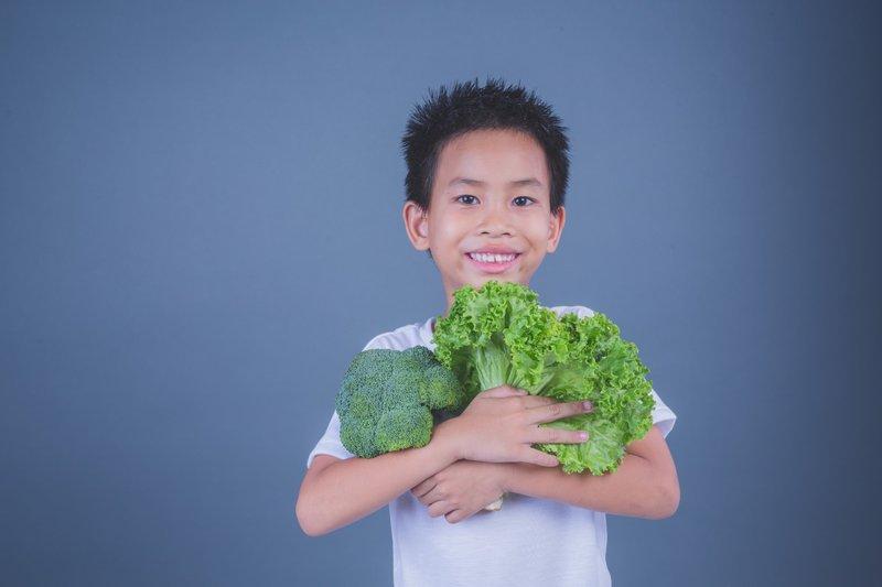 Zat besi dapat dipenuhi dari sayur-sayuran