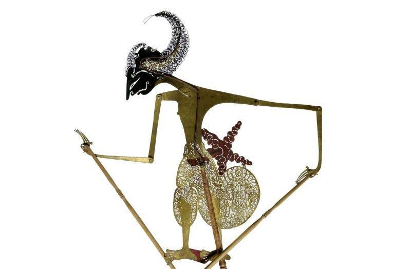 collectie tropenmuseum wajang kulit pop voorstellende raden arjuna tmnr 8 307