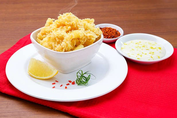 Resep sotong goreng tepung yang crispy