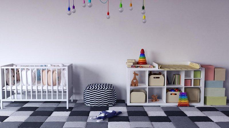 deain interior kamar bayi