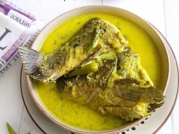 Gulai Ikan Mas Padang