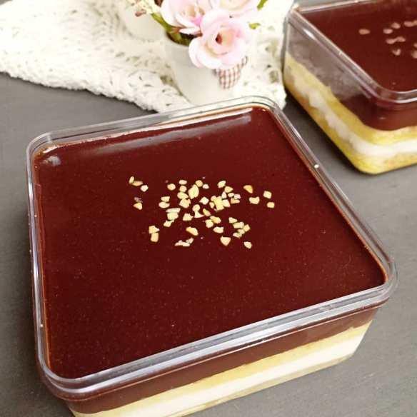 membuat dessert box