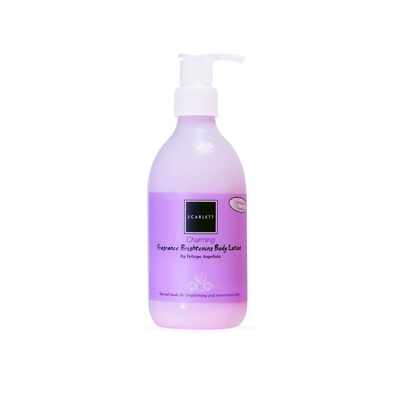 review body lotion scarlett charming