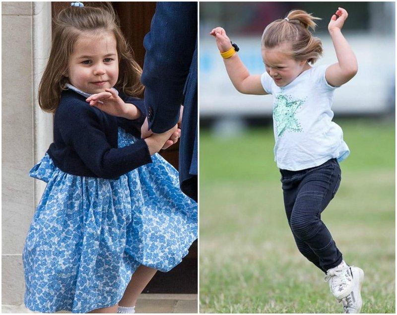 fashion putri charlotte dan mia tindall 3