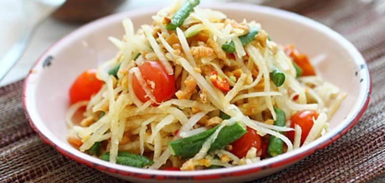 Resep Som Tam Salad Pepaya Mentah Dari Thailand