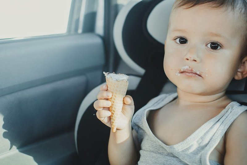 first ice cream