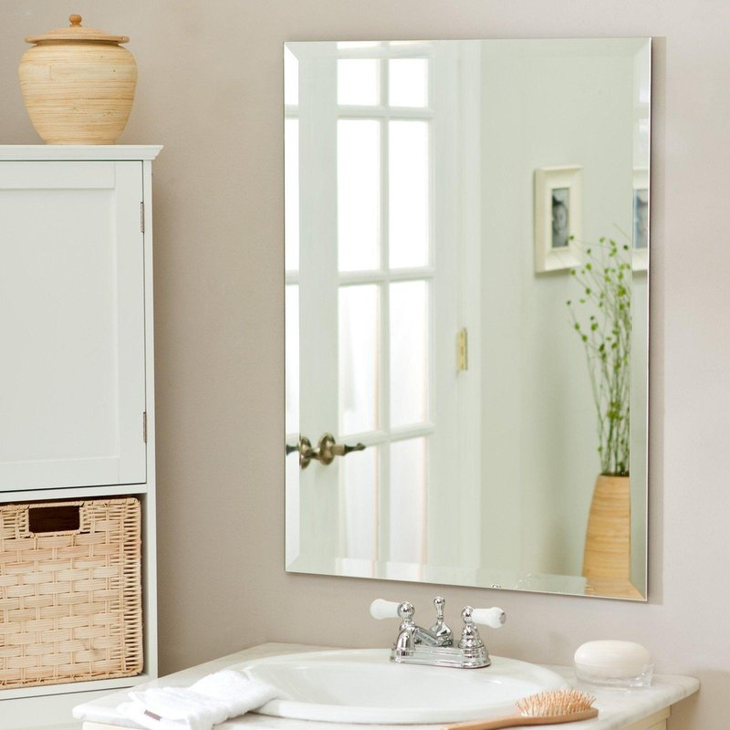 frameless beveled mirror wall mirrors lowes how to hang a frameless mirror kirklands mirrors beveled mirrors frameless mirrors mirrors at home depot frameless oval beveled mirror lowes mirro